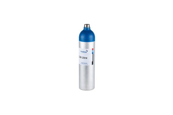 116 Litre Aluminium Recyclable Reactive Multi Mixture Calibration Gas Cylinder