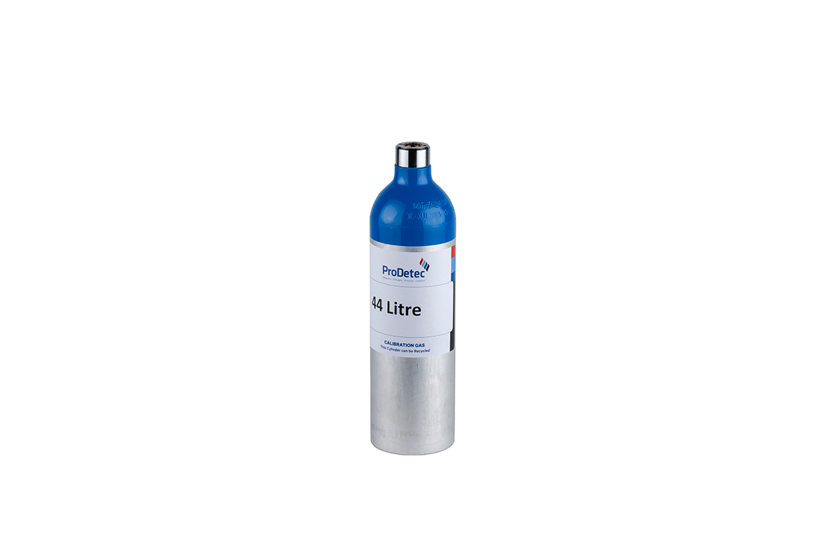 44 Litre Aluminium Recyclable Reactive Multi Mixture Calibration Gas Cylinder